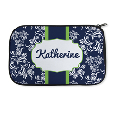 Personalized Neoprene Vintage Cosmetic Bag (6 X 10 Inch)