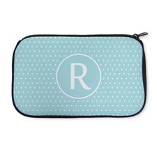 Personalized Neoprene Polka Dots Cosmetic Bag (6 X 10 Inch)