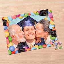 Custom Large Photo Jigsaw Puzzle, Graduation