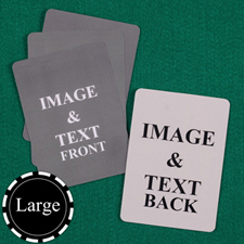 "Large Size 3.5""x5.75"" Custom Cards (Blank Cards)"