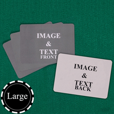 "Large Size 3.5""x5.75"" Landscape Custom Cards (Blank Cards)"
