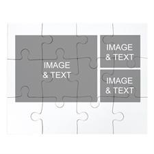 Three Photos Collage Puzzle