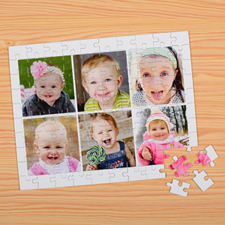 Six Photos Collage Puzzle