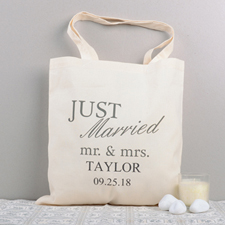Just Married Mr. & Mrs