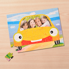 Custom Large Photo Jigsaw Puzzle, Car
