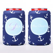 Anchor Personalized Can Cooler