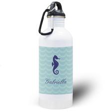Sea Horse Personalized Water Bottle