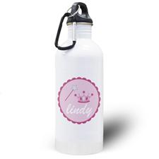 Little Princess Personalized Kids Water Bottle