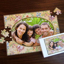 Custom Large Photo Jigsaw Puzzle, Flourish