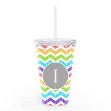 Fresh Zig Zag Personalized Insulated Tumbler