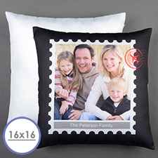 Stamp Personalized Pillow Cushion Cover 16