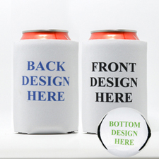 Custom Full Color Imprint Can Cooler