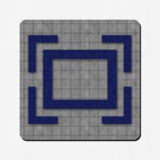 Custom Design 18X18 Game mat