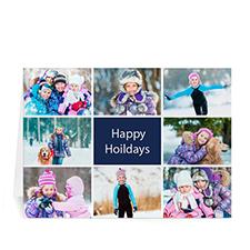 8 Photo Collage Great Joy - Blue
