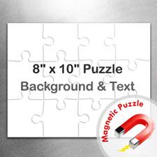 8x10 Magnetic Landscape Message Jigsaw Puzzle