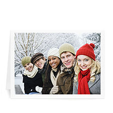 Christmas Picture in Landscape - White Border