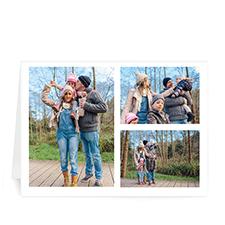 3 Photo Collage - White Border