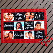 Personalized Photo Collage Puzzle Romantic Gift Favors