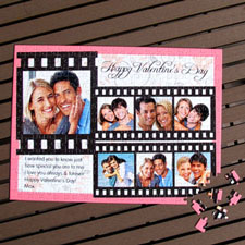 Personalized Large Photo Puzzle Sweetest Valentine's Day Gift Favors