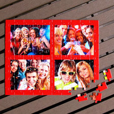 Personalized 8x10 Custom Photo Puzzle New Year Gifts