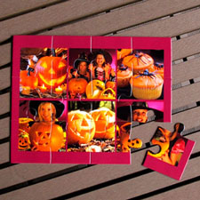 Personalized Photo Puzzle Halloween Gift Party Favors