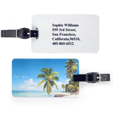 Custom Gallery Luggage Tag