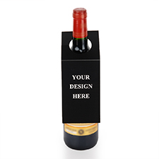 Custom Design Wine Bottle Tag, set of 6