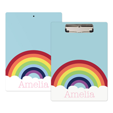 Rainbow Personalized Clipboard