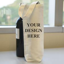 Personalized Wine Cotton Tote Bag