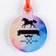 Mini Personalized Ornament (One Image)