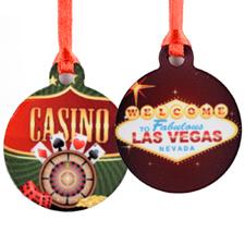 Mini Personalized Ornament (Two Image)