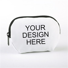 Custom Full Color Print Zipper Pouch 6X4.25 (1 Image)