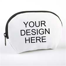 Custom Full Color Print Zipper Pouch 6.8X4.8 (1 Image)