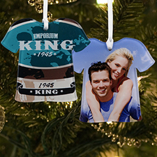 Personalized Photo Acrylic Ornament T-Shirt Shape