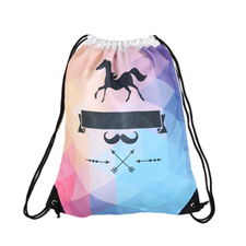All Over Print Drawstring Backpack