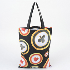 Custom All Over Print Tote Bag, 17.5x13.5