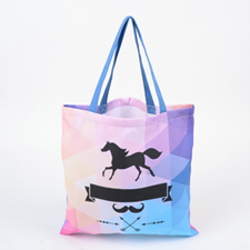 Custom All Over Print Tote Bag, 16x16