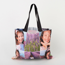 Collage Custom All Over Print Tote 11x14