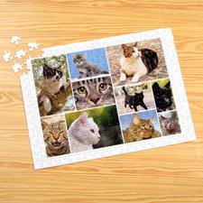 10 Photo Collage, White