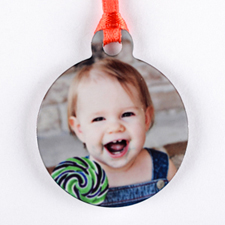 Mini Personalized Ornament (One Image)_copy