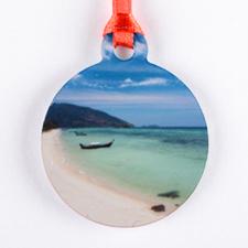 Mini Personalized Ornament (One Image)_copy