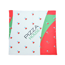 Custom Bandana Handkerchief with Company Logo Full Color, 14x14 inch