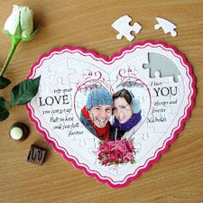 Photo Heart Puzzle