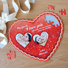 Personalized Heart Puzzles, All my Heart