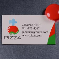 Custom Imprint 2 X 3.5 Business Card Magnet