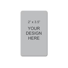 Custom Imprint 2 X 3.5 Portrait Card Magnet