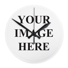 All Over Print Frameless Square Wall Clock, 10.75""