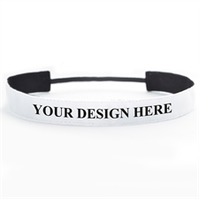 Custom Full Color Print 1 Inch Headband