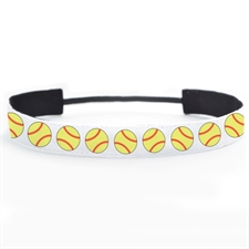 Softball Personalized 1 Inch Headband
