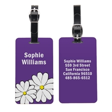 Daisy Personalized Luggage Tag